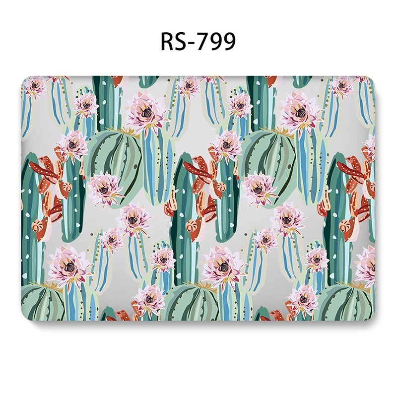 Image 5 - Fashion Hard Shell Laptop Case for MacBook 12 13.3 inch Retina Touch Air Pro 13 12 15 Shockproof Cover 2018Air 13 A1466 A1398-in Laptop Bags & Cases from Computer & Office