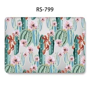 Image 5 - Fashion Hard Shell Laptop Fall für MacBook 12 13,3 zoll Retina Touch Air Pro 13 12 15 Stoßfest Abdeckung 2018Air 13 A1466 A1398