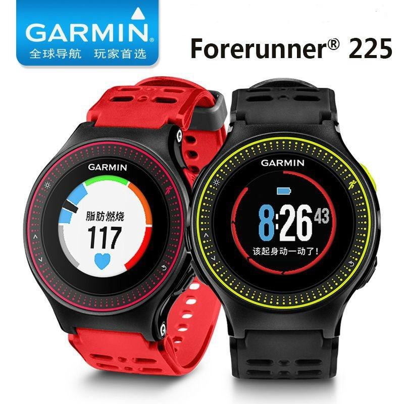 Original Garmin Forerunner 225 GPS Heart rate monitoring speed track running Smart Watch
