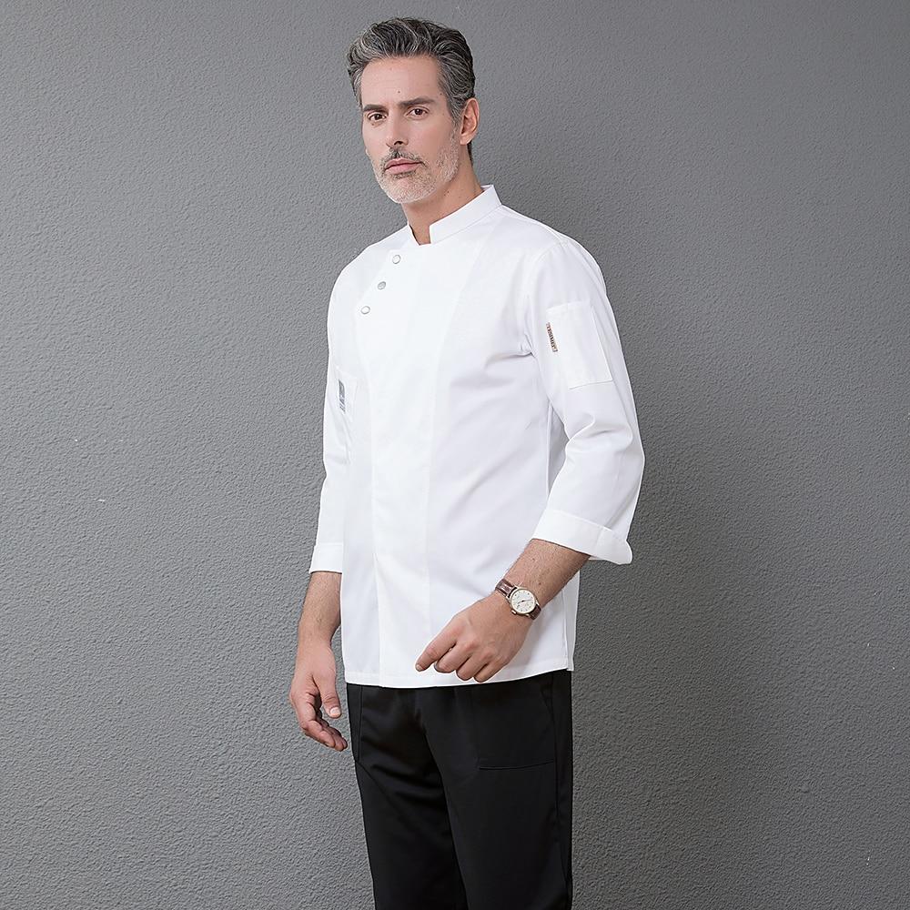 485f584e466 2019 nuevo traje de trabajo de cocina para restaurante servicio uniforme de Chef  ropa de trabajo