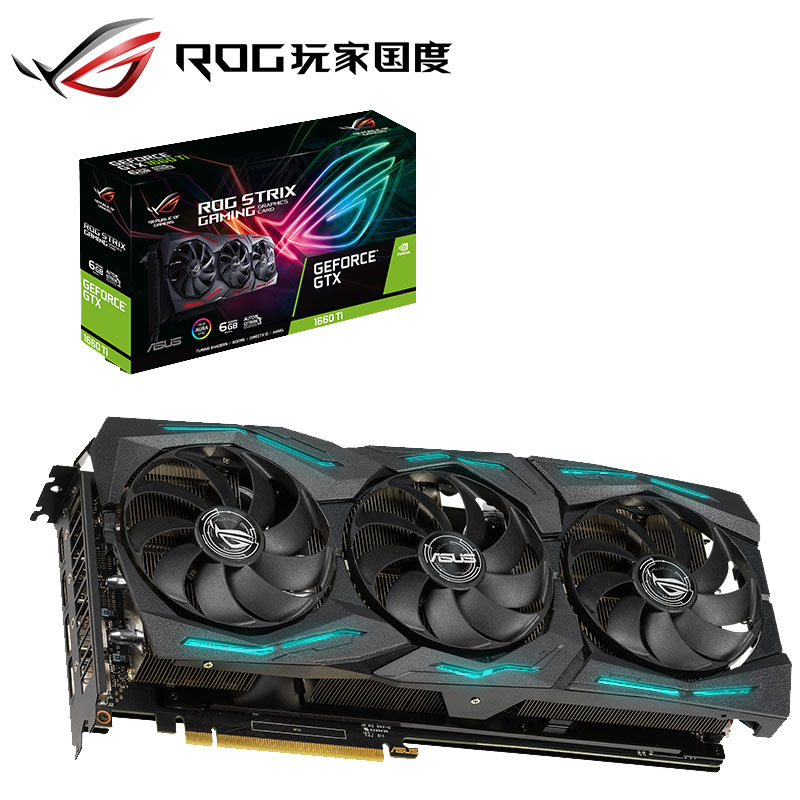 Asus GTX1660TI-O6G-GAMING Desktop Game Card GTX1660TI 6G