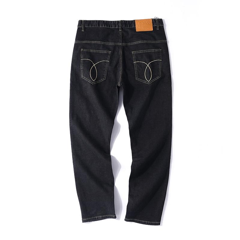 Rue Straightlarge Noir Blanc Black Mode Lâche Taille Droite Jeans De Hommes 5xStYwqSF
