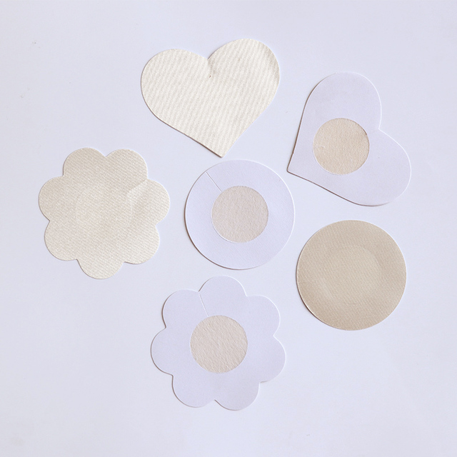 3 Style Invisible Strapless Backless Bra Pad Cleavage Enhance Stick Nipple Cover Disposable Breast Petals Lift 1