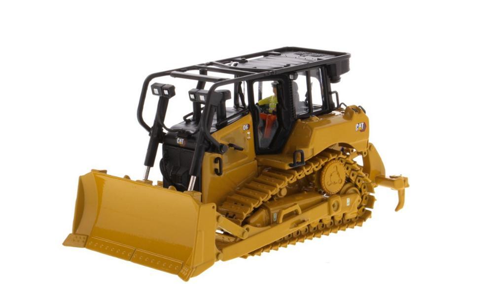 Moulé sous pression Maîtres 1/50 Caterpillar Cat D6 XW SU Piste Type Tracteur Moulé Sous Pression Modèle Jouet #85553