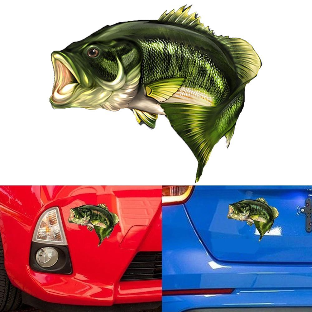 картинка рыбки на машине