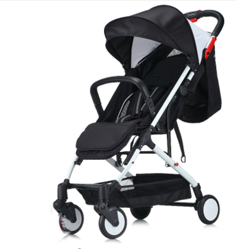 2016 New Baby Stroller Can Sit And Lie Baby Carriage Ultra Light Pushchair Folding Umbrella Cart Travel Pram 8 Free Gifts