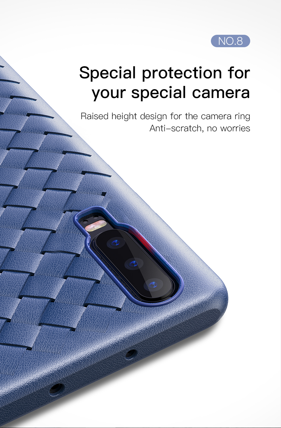 ASTROSOAR Baseus BV Weaving Soft Shock-resistant Case for Huawei P20