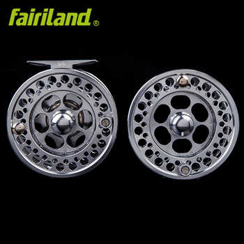 Money-saving combo 5/6 fly reel with premier extra spool 3BB fly fishing reel 90mm with incoming click fish wheel ice reel
