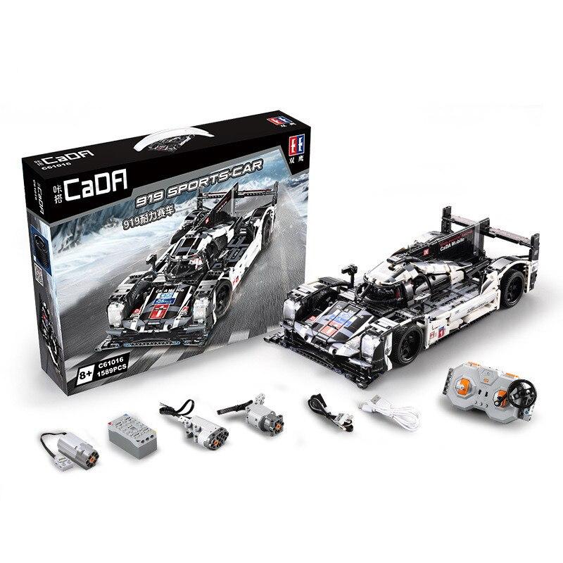 RC Technic Sport Voiture De Course 1586 pièces Briques Blocs De Construction Jouets pour Enfants Legoings Créateur Techniques Cadeaux