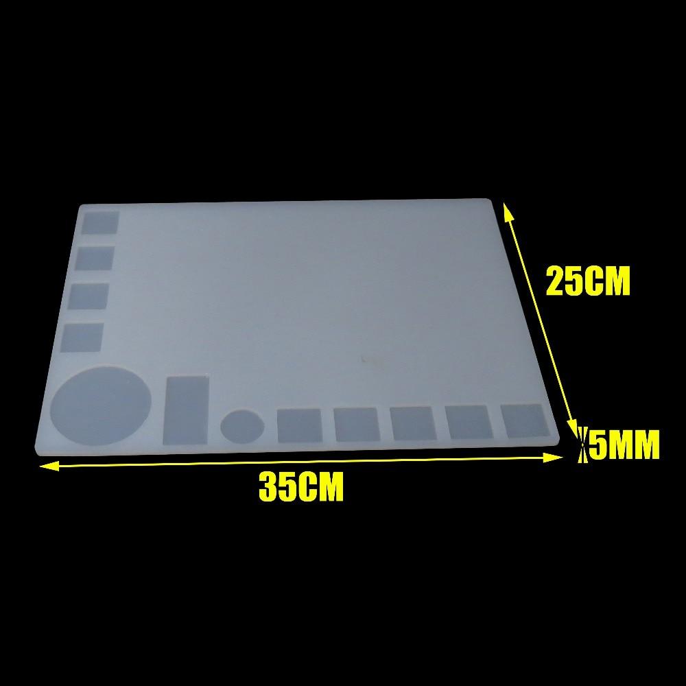 Heat-resistant Heat Gun BGA Soldering Station Repair insulation pad insulator pad desk mat maintenance platform