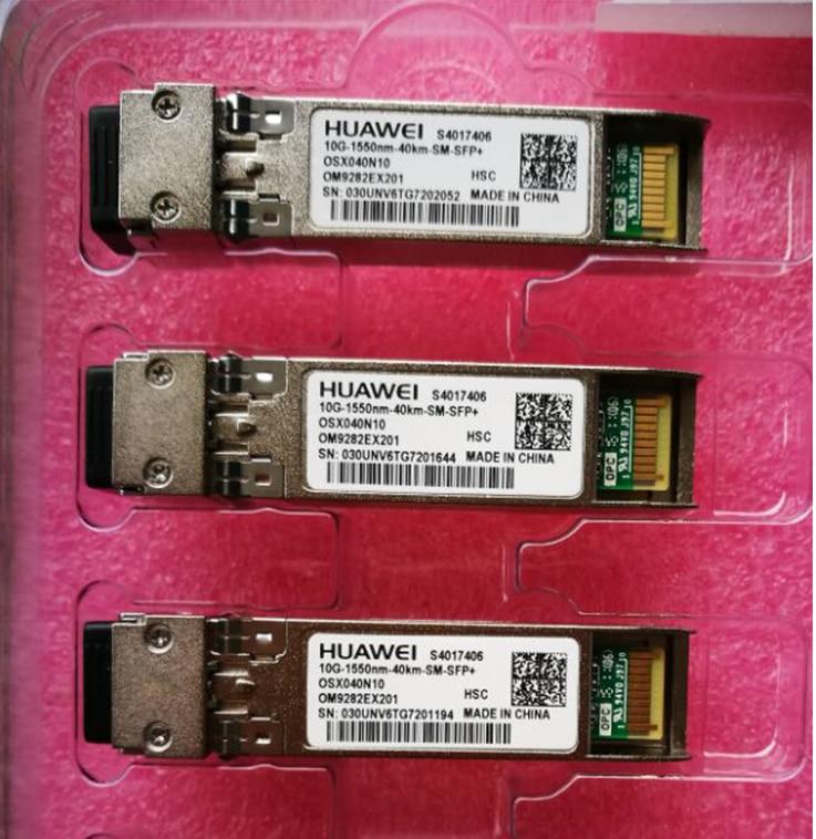 hauwei  10G-1550nm-40Km-SFP+ single-mode 10G 1550NM 40KM fiber optic module OSX040N01 /  OMXD30002hauwei  10G-1550nm-40Km-SFP+ single-mode 10G 1550NM 40KM fiber optic module OSX040N01 /  OMXD30002
