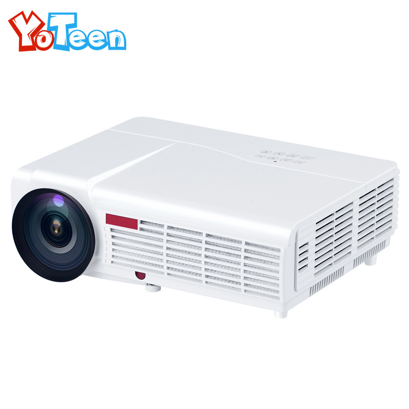 Yoteen LED96 3000 Lumens Portable LCD Projector HDMI VGA Home Theater Beamer Meeting Full HD Projector LED Business Travel Use