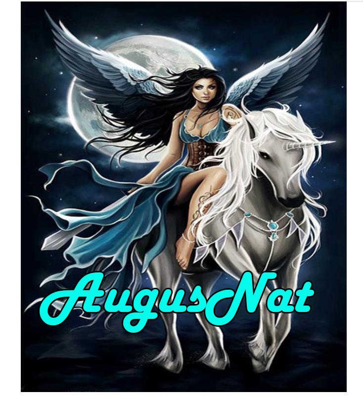 Luna pintura diamante completo square Ángel mujer diamante bordado de unicornio piedra cuentas imagen caballo diamant mosaico pegatinas de regalo