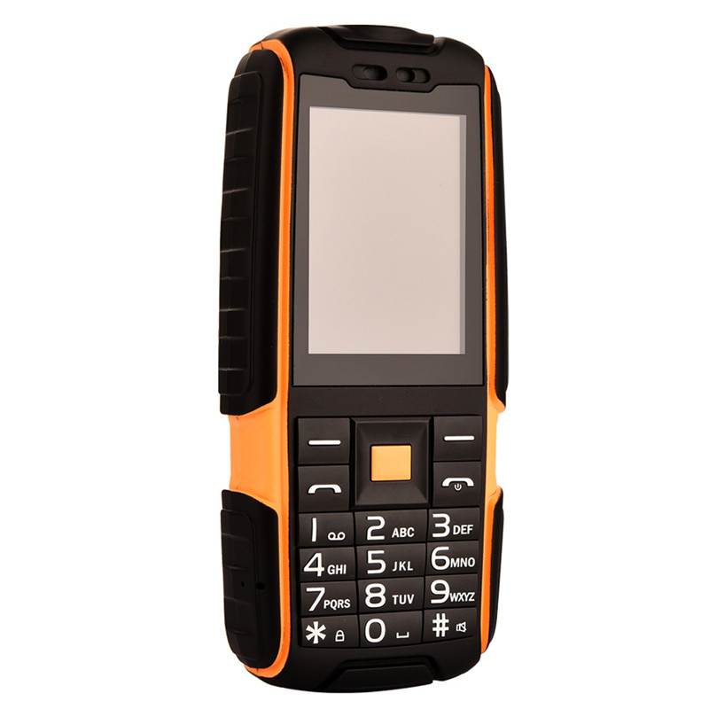 "DTNO.I A9 2.4"" Phone <font><b>Power</b></font> Bank Dual SIM Card Flashlight Big Speaker 2.4 Inch Rugged Waterproof Phone (Can Add Russian Keyboard)"