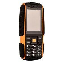 """Robuste 2.4 """"Banque de Puissance de téléphone Double SIM Carte Poche Grand Haut-Parleur 2.4 Pouce Robuste Étanche Téléphone (peut Ajouter le Clavier Russe)"""