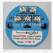 RTD PT100 Temperature Sensors Transmitter 0-150 degree C OUT 4-20mA(China (Mainland))