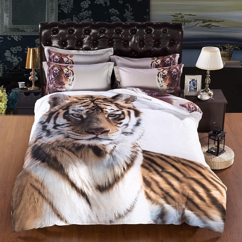 Popular Tiger Bedding Sets Buy Cheap Tiger Bedding Sets