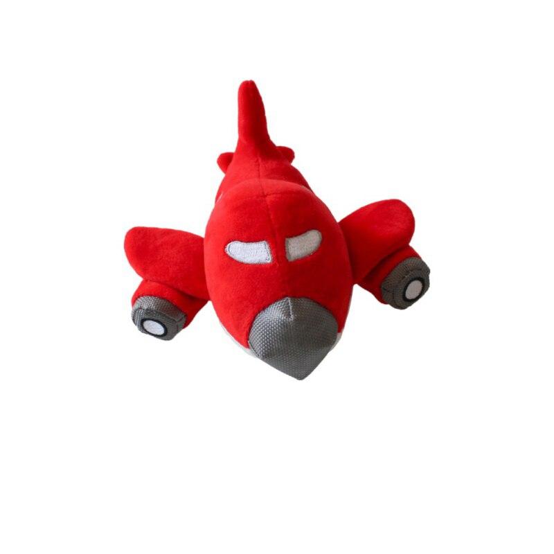 Писк игрушки Pet Puppy жевать игрушка собака скрипучий плюшевые звук милые самолетов плотная чучело собаки скрипучая Игрушки для маленьких соб...