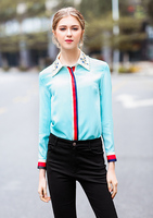 Silk Blouse 2018 Spring Summer Women S Party Fashion Office Women S Pure Shirt Vintage Girls