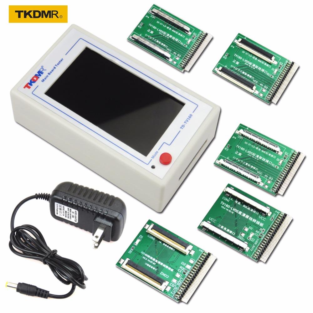 TKDMR TV160 LVDS-i põlvkond Pöörake VGA-muundurit ekraaniga LCD / LED-teleriga emaplaadi testri põhiplaadi tööriist tasuta kohaletoimetamine