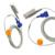 2016 New Arrival DevicesHealth Médica Cuidados Adulto Clipe de Dedo Spo2 sensor, 14 Pinos, 3 m/9.8 pés Fit para MenandWomen