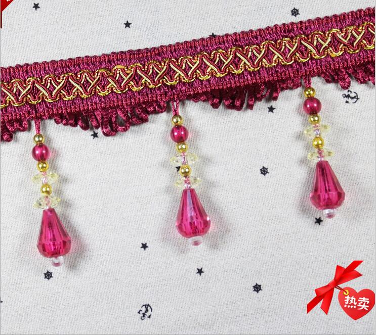 Sewing Accessories Lace Trims Trimmings Crystal Beaded