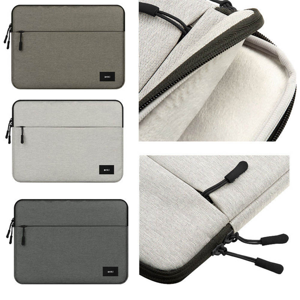 Eagwell Universal Soft Laptop Sleeve Bag Pouch Cover For Apple Macbook Air Pro 11 13 15 Zipper Pocket Notebook Carry Bag Case