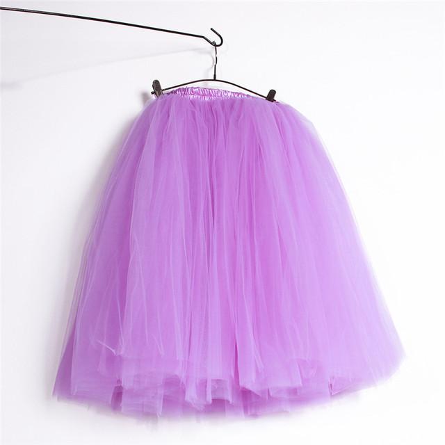 2016 Verano Puffy Falda Del Tutú de La Princesa Bastante Profesional 5 Capas ropa de Baile de Ballet de tul vestido de Bola de Gran Niña o Adolescente adultos