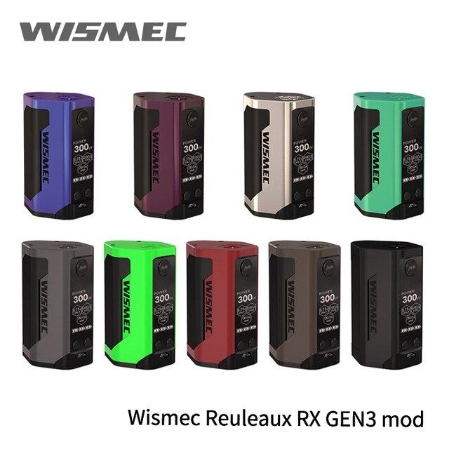 Просвет 100% WISMEC Рел RX GEN3 MOD не гном танк 2 мл гном бак RX GEN3 TC RXGEN3 Mod обновление rx2/3 predator 228 дешевые