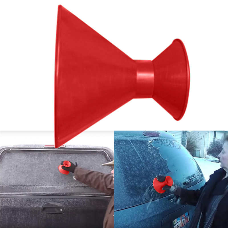 Remover Magic Shovel Cone Shaped Outdoor Winter Car Tool Snow Windshield Funnel Ice Scraper #2n27 (13)