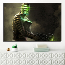 Dead Space HD Isaac Clark Cover Artwork Poster Paintings On Canvas Modern Art Decorative Wall Pictures Home Decoration