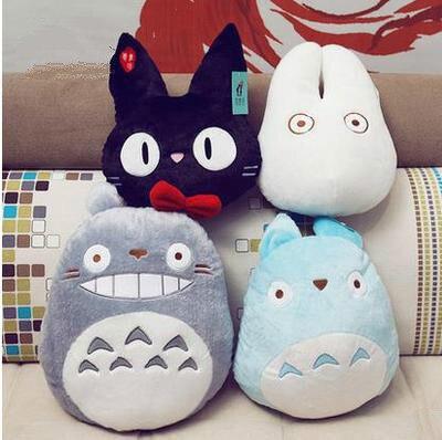 Super Adorable Chinchilla Plush Toy Japan Anime Totoro Plush Toy Doll Cute Doll Family Pillow