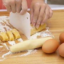 Кухонный резак шпатели для торта, торта, лопатки для теста, скребок для масла, трапециевидный скребок, инструменты для торта, пластиковый скребок для теста