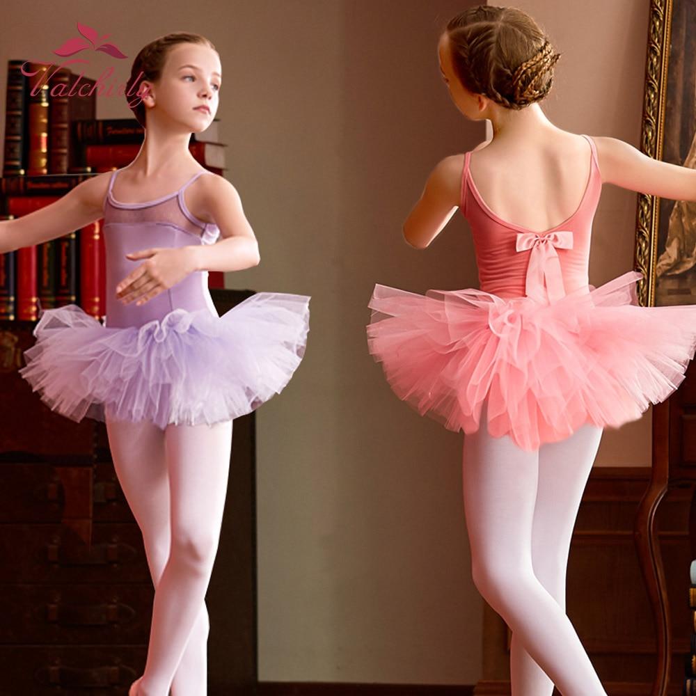 Girls Ballet Dress Tutu Dancewear Leotard Girl Dance Dress Tutu Costumes Kids Dancer Ballet Clothing For Ballerina Skill