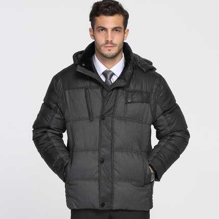 2016 new design winter Winter Coat Men 2016 New Design Hooded Thicken Warm Parkas Father Clothing Male Cotton Padded Down Jacket Outerwear A4283