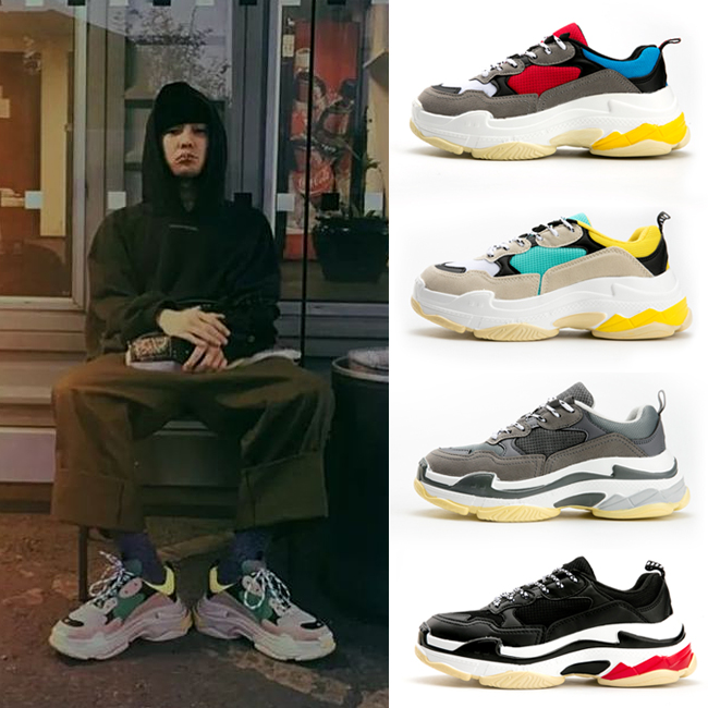 2018 New Ladies Casual Shoes Flat Bottom Wild Breathable Shock Absorber Travel Shoes
