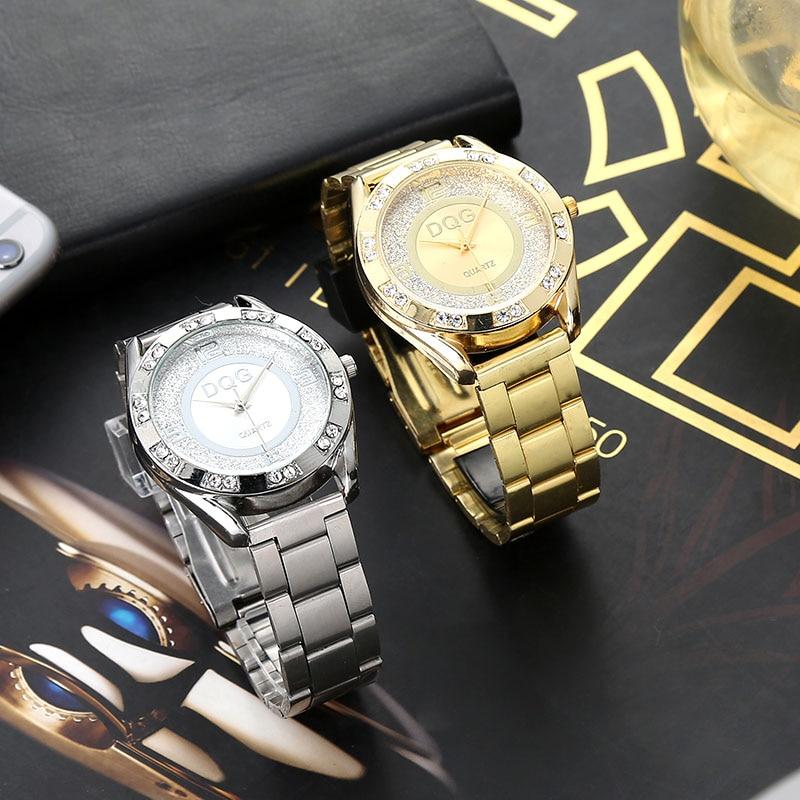 reloj mujer Nieuwe luxe merk mode zilveren gaas riem vrouwen horloges - Dameshorloges - Foto 2