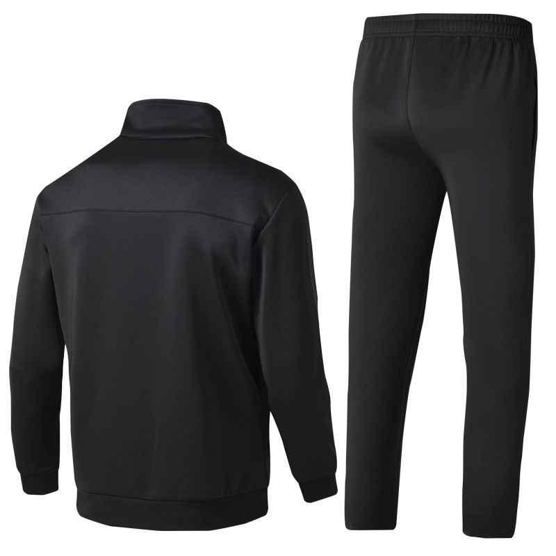 男性のスポーツウェアスーツスウェットシャツトラックスーツなしパーカー男性カジュアルアクティブスーツジッパー生き抜く 2 PC ジャケット + パンツセット