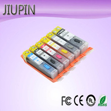 JIUPIN 6pcs edible ink cartridge PGI-870 CLI-871 for Canon PIXMA MG7780 TS8080 TS9080 printer