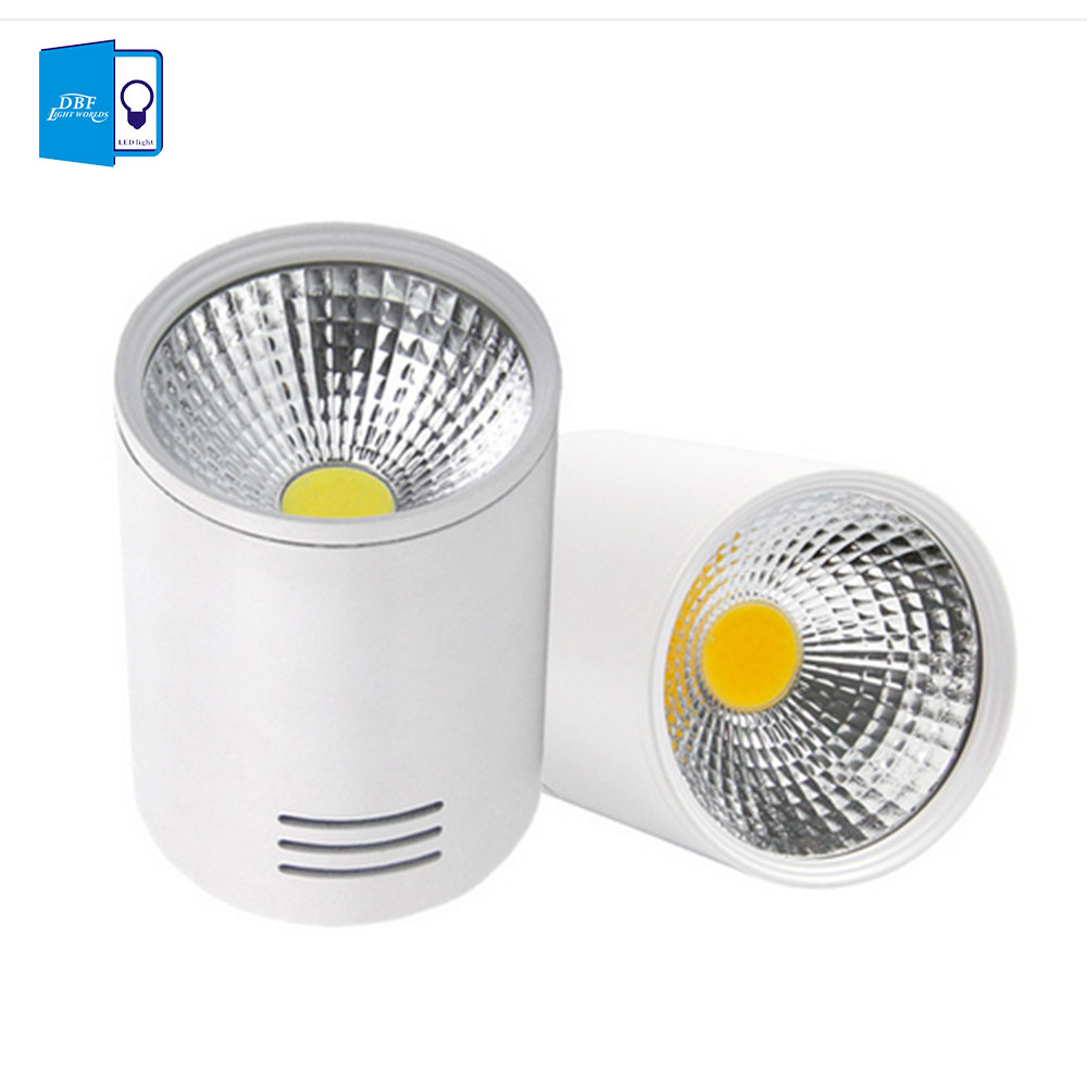 Online buy wholesale luminaria downlight from china luminaria surface mounted downlight 7w 10w cob led downlight lamp with led driver dimmable downlight luminaria led parisarafo Gallery