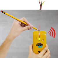 Handheld 3 in 1 Detector Find Metal Wood Studs AC Voltage Live Wire Wall Scanner Electric Box Finder Tester with Groove + Buzzer
