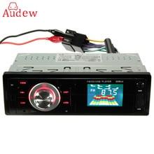 Автомобиль аудио стерео fm Радио MP3 музыкальный плеер стерео-dash USB SD AUX Вход приемник LED/ ЖК-дисплей Дисплей Дистанционное управление