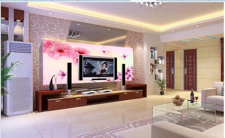 Wallpaper For Living Room 2014 2014 new hot selling the living room wallpaper background pink