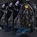 """3 estilos 7 """"18 cm brinquedos Cicatriz Predador Alienígena AVP Alien VS Predator PVC action Figure Collectible Modelo"""
