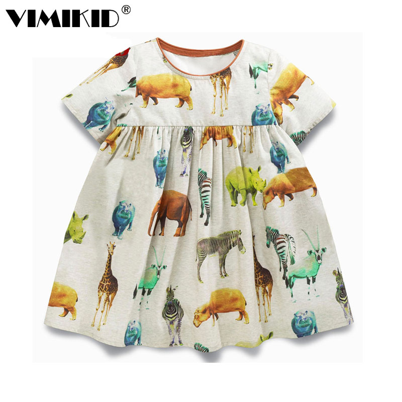 VIMIKID baby meisjes zomerjurken gewaad enfant prinses jurk kostuums - Kinderkleding