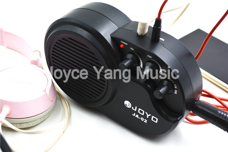 JOYO JA-02 Small Guitar Amplifier With Clean Distortion Effect MP3/CD Accompainment Headphone Output истори одной девушки