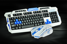 2.4G usb gaming wi-fi keyboard and mouse combo set Multimedia recreation gamer equipment Waterproofe DPI Management For Desktop PC Laptop computer