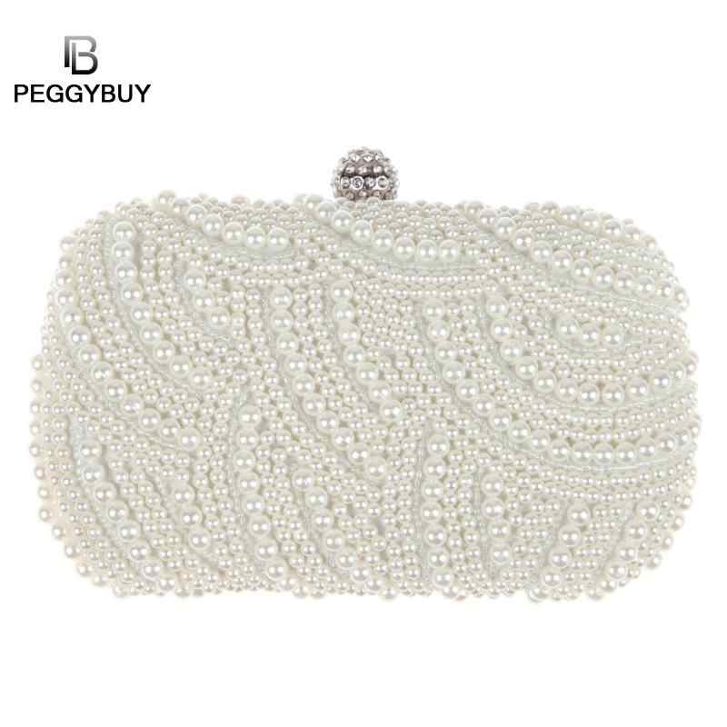 22550d960f Detail Feedback Questions about Oval Shaped Pearl Beaded Handbag ...