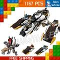 1167 шт. 2016 Бела Ninja 10529 Ультра Стелс Raider Строительный Блоки Джей Ллойд Кирпич Игрушки Совместимые С Lego
