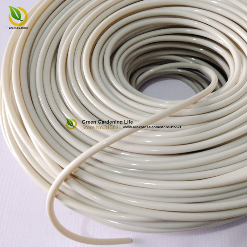 5m NEW Rice White 4/7mm Garden Hose Avirulent Insipidity Micro Drip  Irrigation Pipe Home Garden Watering Hose For Sample Order In Garden Water  Connectors ...